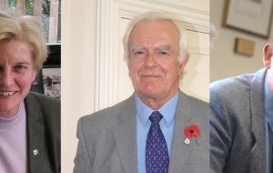 Phyl Rendell, Roger Edwards and Ian Hanson, will represent the Camp