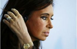 The Argentine president is apparently recovering faster than expected according to her ministers