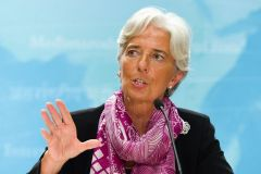 Managing director Lagarde must report to the Fund's executive board by next Wednesday on Argentina's progress