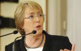 """From the perspective of a developed country, Michelle Bachelet's program is completely mainstream"" say economists and political analysts (Photo AP)"