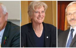 Mike Summers, Phyl Rendell and Dr. Elsby make up the new Executive Council