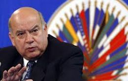 "OAS Secretary General Insulza presented a paper on ""The Drugs Problem in the Americas"" at the General Assembly in June 2013"