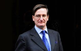 The Rt, Hon. Dominic Grieve QC MP is in the Falklands for the annual conference of the Attorneys General of the British Overseas Territories