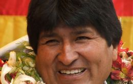 Morales said the bonus will continue as long as the economy exceeds 4.5%