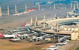 Galeao airport is Brazil's second busiest
