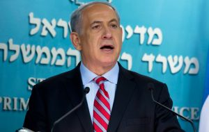 """Israel has many friends and allies, but when they're mistaken, it's my duty to speak out"" said PM Netanyahu"