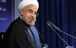 """No matter what interpretations are given, Iran's right to enrichment has been recognized"" affirmed President Rouhani"
