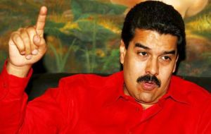 Maduro has ordered businesses to slash prices and people have flooded shops to take advantage of discounted items