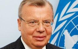 UN Office on Drug and Crime, UNODC, Executive Director Yury Fedotov