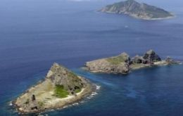 The islands, known as Senkaku in Japan and Diaoyu in China, are a source of rising tension between the two nations