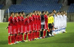 The Gibraltar football team managed a very encouraging draw 0-0 with Slovakia