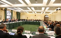 The Overseas Territories Joint Ministerial Council met this week in London