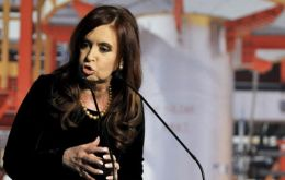 Cristina Fernandez seized a majority stake in YPF from Repsol in April 2012