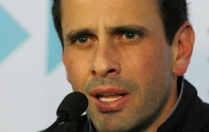 "Opposition leader Capriles who released the news said it was supplied ""by friends inside government"""