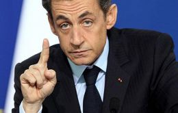 """Without the European Union, France or Germany could have disappeared from the world map"" warned Nicholas Sarkozy"