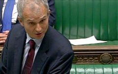 Questa è la terza settimana consecutiva che Gibilterra è stata sollevata nel parlamento britannico.