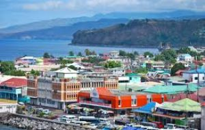 Roseau, the capital of one of the countries' with the lowest per capita income in eastern Caribbean