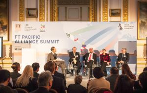 Finahcial Times in parnership with UK-FCO and Pacific Alliance Embassies in London Conference (Photo ProChile)