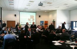 The second Falklink event took place in Aberdeen and was supported by Scottish Enterprise  (Pic. File)