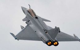 France is pushing for the Rafale, a negotiation started under ex president Sarkozy