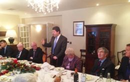 Picardo hosted a lunch for members of the House of Lords
