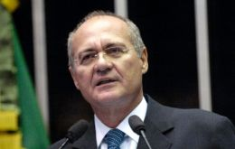 Renan Calheiros, president of the Senate and one of the five most powerful persons in the country