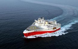 Major activity in 2013 has been completion of two 3D seismic campaigns in the South Falkland Basin with PGS Ramform Titan