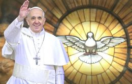 "The Argentine born pope called for the world to unite against violence as a ""community of brothers""."