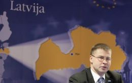 "PM Valdis Dombrovskis: a ""big opportunity"" for Latvia's economy"