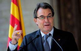"Artur Mas: ""I am confident I can rely on you"""