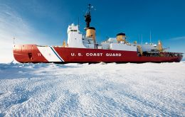 The Polar Star is expected to reach the ice packed Commonwealth Bay