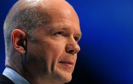 """We are safer and stronger together, and together we can do more good in the world"", said Hague"