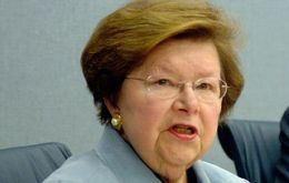 """As with any compromise, not everyone will like everything in this bill"" said Democratic Senator Barbara Mikulski"