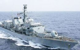 The type 23 frigate underwent a whole year upkeep period followed by extensive sea trials