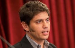 Minister Kicillof and his team of young economists are negotiating payment terms for the 9.5bn dollars debt