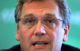"""Not only is it very behind in its construction, but it has failed to meet any of the deadlines set by FIFA"", said Valcke."