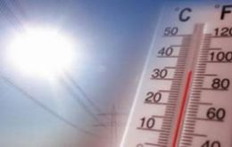 Average temperature in 2013 was 58.3 degrees Fahrenheit (14.6 Celsius), or 1.1 F (0.6 C) warmer than the mid-20th century baseline