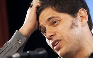 A long and hard negotiation that might take several months, anticipated Kicillof