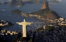 The 1931 iconic monument is perched on the Corcovado mountain and offers spectacular views of Rio