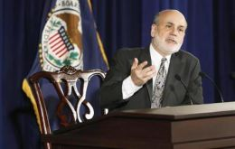 It was chairman Ben Bernanke last meeting, who will be replaced by Janet Yellen (Photo Reuters)