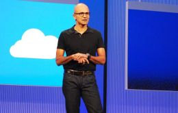 Nadella is a 22-year veteran in the company and helped create the 'cloud'