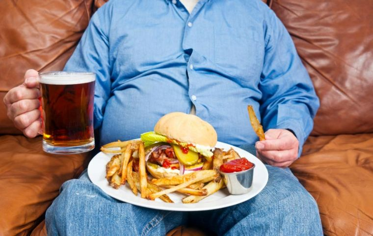 A report says obesity can affect a person's ability to work and their underlying mental health