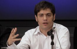 Kicillof was recently in Paris to resume negotiations