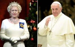 Since holding the title of Defender of the Faith and Supreme Governor of the Church of England, the Queen has met with all popes.