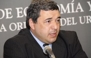 Mario Bergara is the current Economy minister, previously he was head of the Central bank