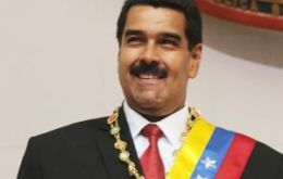 President Maduro was democratically elected on 14 April 2013, says the release