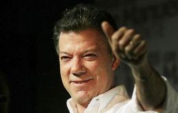 President Santos re-election chances are closely linked to the talks results