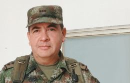 General Barrero was recorded on tape referring to prosecutors in 'disrespectful language' said Santos