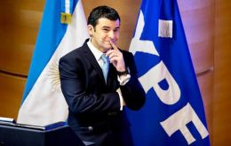 YPF CEO  Galuccio has the job of making Argentina again self sufficient