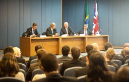 Hague at the event: the first Brazilian to receive a UK scholarship dates back to 1938